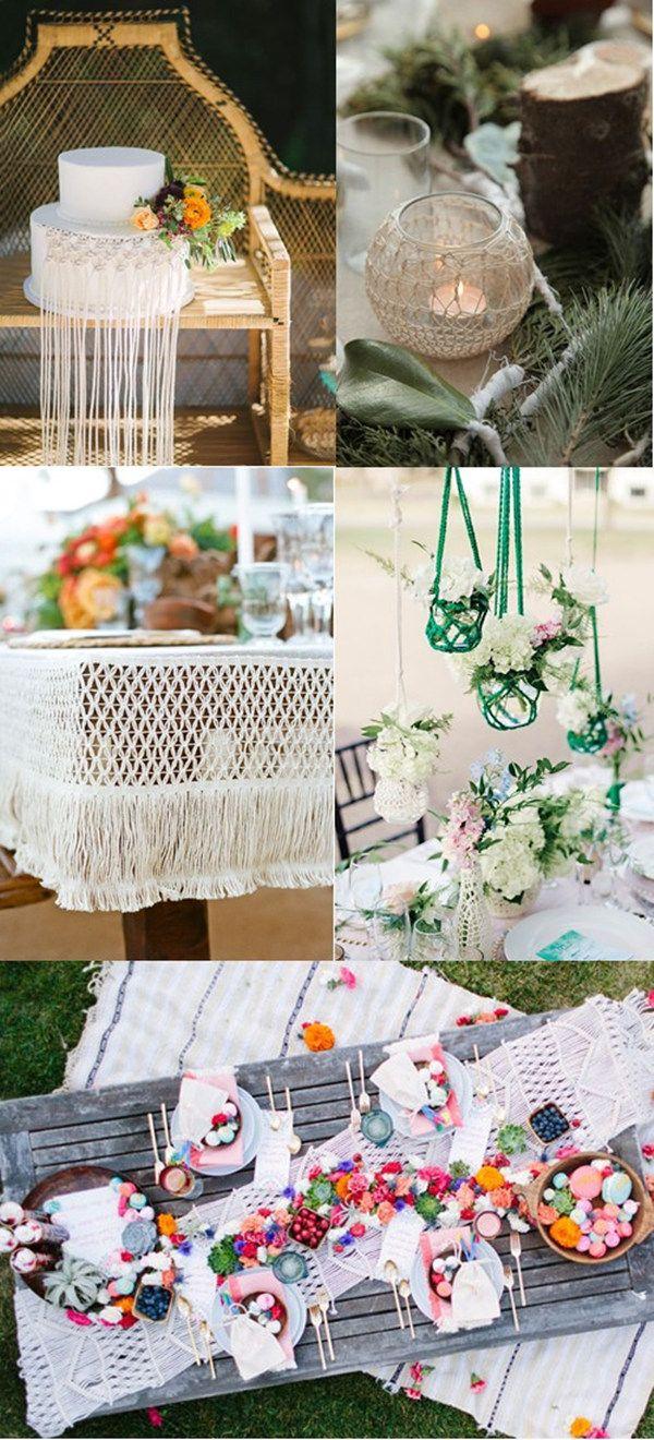 97 best wedding macrame images on pinterest boho wedding