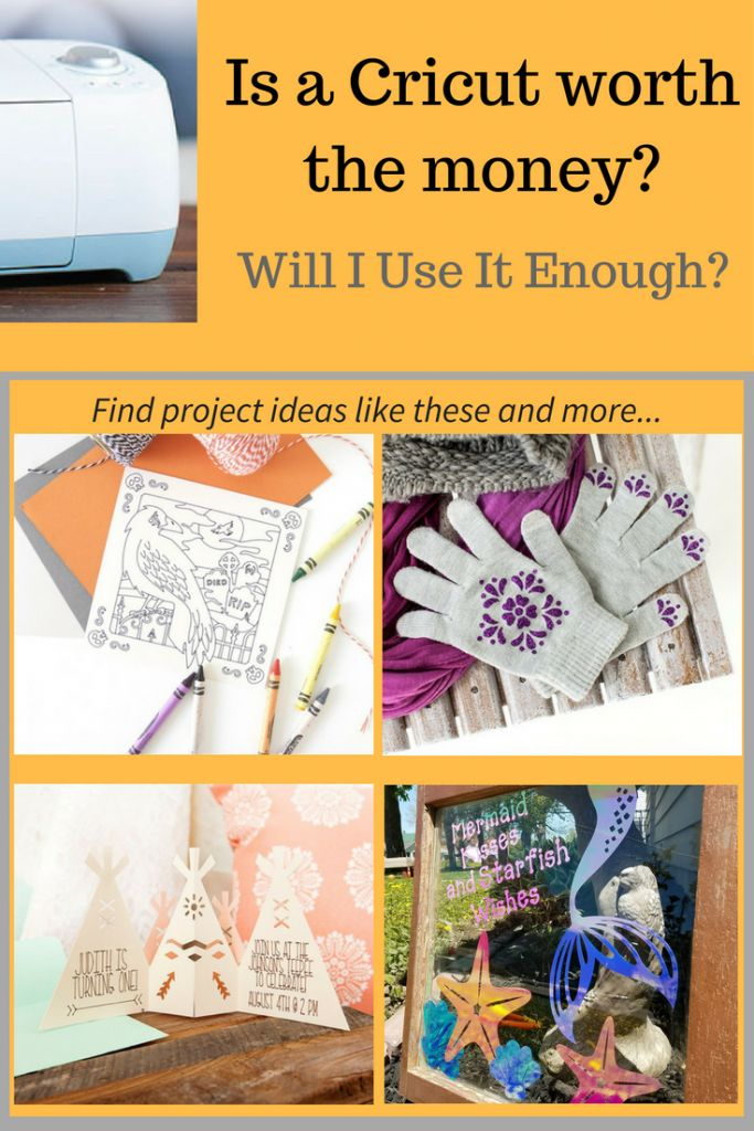 Is A Cricut Worth The Money? Will I use it enough?  Check out all the projects I've made with mine already (in less than a year), whether they are for gifts, DIY crafts around the house, or fun projects for the kids - you can do it all! The Cricut also makes a fantastic gift - I know a few people who would love to get one for a birthday or Christmas present. :)