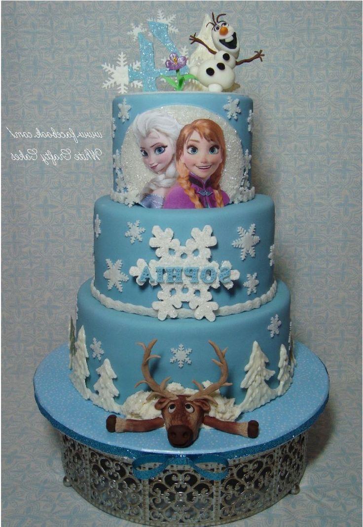 Cake Decorating Ideas Frozen : 25+ Best Ideas about Frozen Fondant on Pinterest Disney ...
