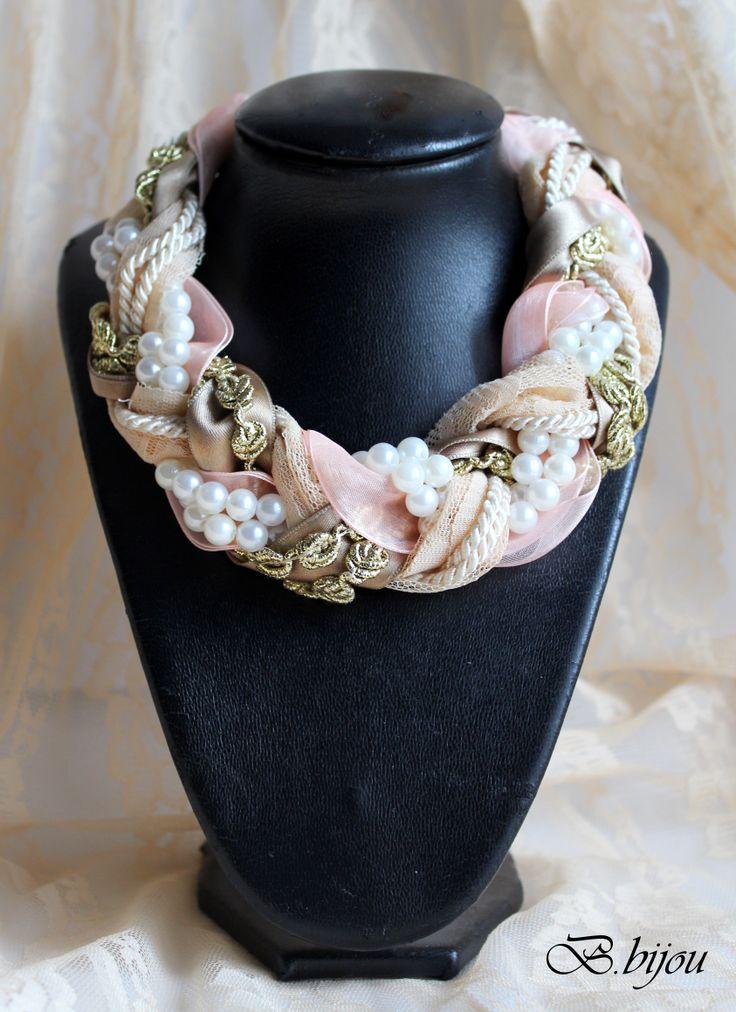 Model B62 Braided Collar Necklace