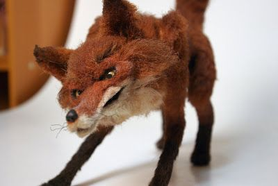 Ball & Socket Stop-Motion Fox Puppet! ~ Skin & Bones