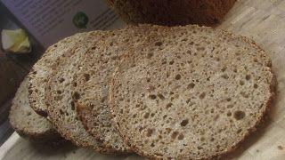 Die Mehlkäfer: Mit Vollkornbrot ins Neue Jahr - Dinkel - Roggen Brot ohne Kürbiskerne