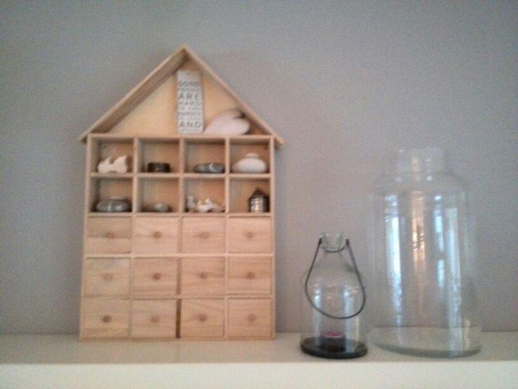 houten huis en glas