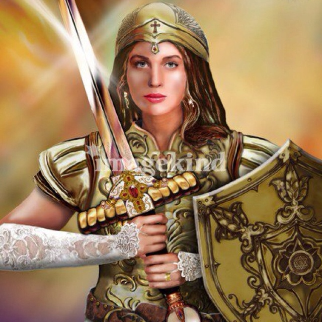 Bride Of Christ, Christian Warrior
