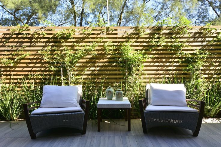 Outdoor decking made of tiles! These Eco Wood tiles are the perfect addition to your outdoor space