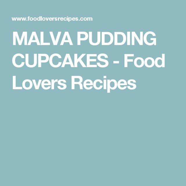 MALVA PUDDING CUPCAKES - Food Lovers Recipes