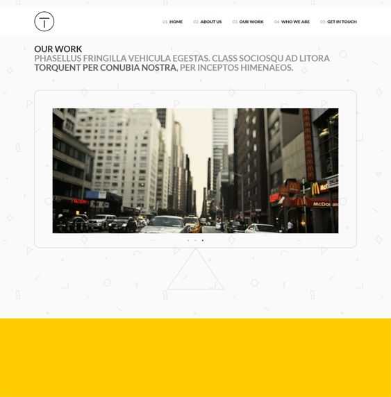 Telesis is a clean responsive parallax one page WordPress template which also includes social media icons, live template customisation, fullscreen slideshow, and more.
