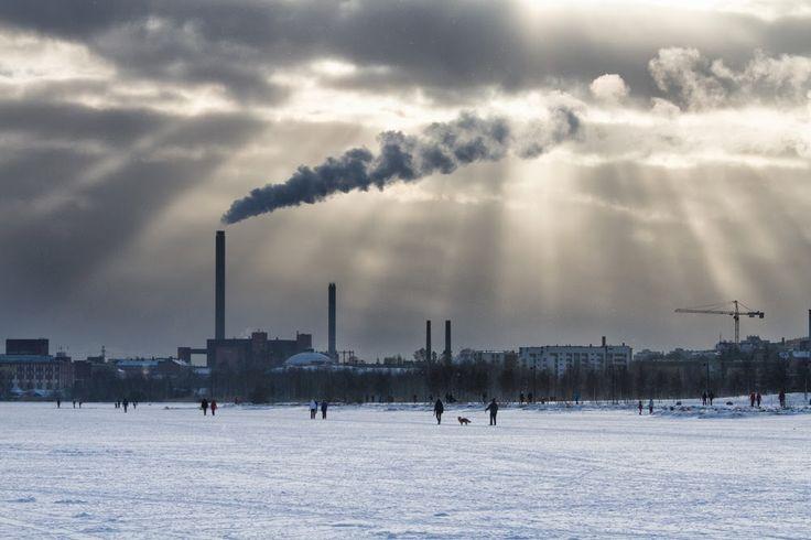 salmisaari vanhankaupunginlahdelta, by Heikki Rantala