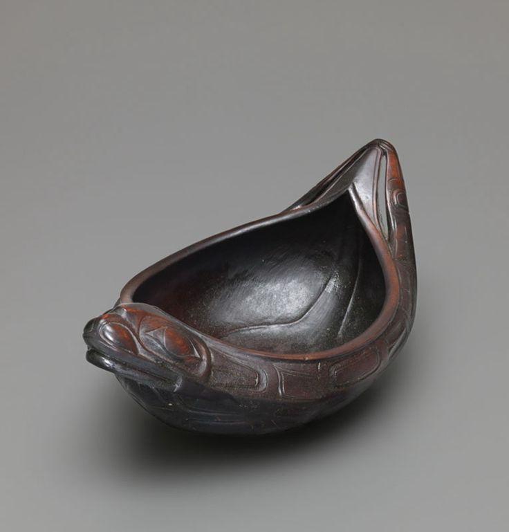 Seal Form Bowl Haida Or Tlingit Northern Bc Southeast