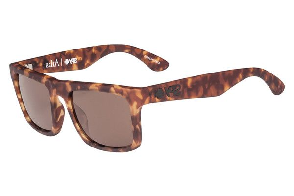 Spy Atlas Soft Matte Camo Tort Sunglasses Happy Bronze