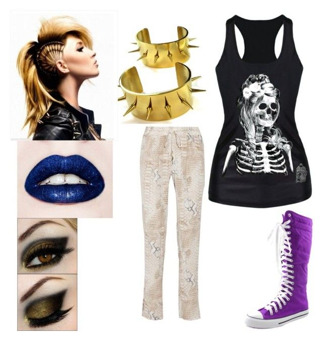 Punk by aniarkdk on Polyvore featuring polyvore, fashion, style, Melissa Odabash, DK and clothing
