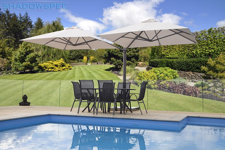 SHADOWSPEC – Global Suppliers of Luxury Outdoor Umbrella Systems   Whether you need outdoor shades for patios or outdoor shades for porches, SHADOWSPEC has you covered. The SU6 Umbrella is a great alternative to a canopy or awning, as it can mount up to 4 umbrellas off one mast, allowing for ample coverage! Click below for more information: USA – www.shadowspec.com  AUST – www.shadowspec.com.au  NZ/Other – www.shadowspec.co.nz