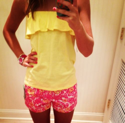 Lily Pulitzer I want those shirts SOOO bad