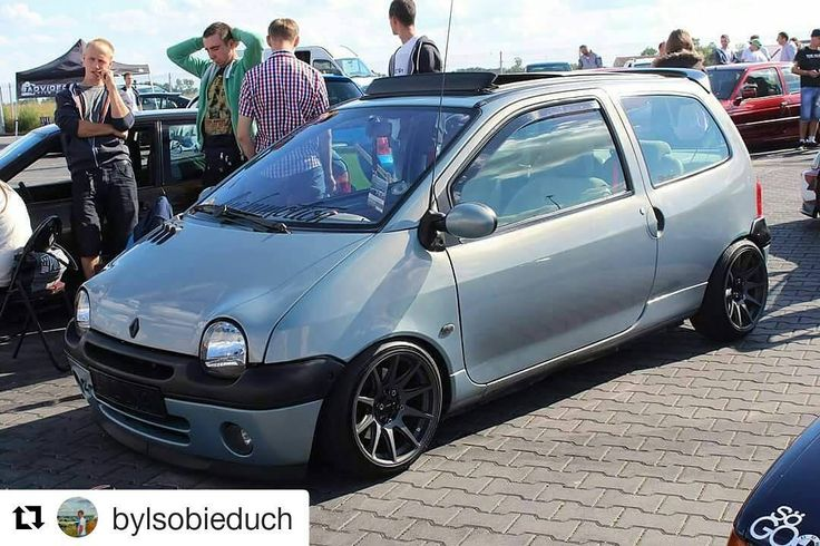 #Repost @bylsobieduch with @repostapp ・・・ #Twingo #Renault #static #jr11 #stance #camber #francecar #low #lowlife