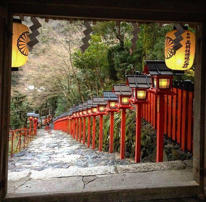 #kibuneshrine #кибунэдзиндзя #Киото #Япония #фонарики #храмы #Япония #Курама #Кибуне #Кибунэ