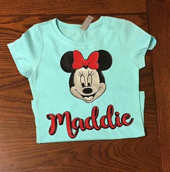 Hey, I found this really awesome Etsy listing at https://www.etsy.com/listing/485636848/minnie-mouse-shirt