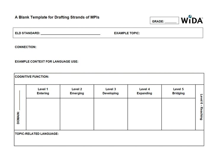 wida drafting strands of mpi template