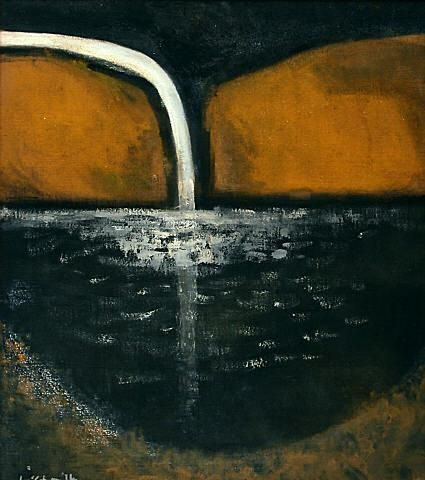Colin McCahon, The First Waterfall, 1964