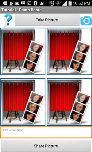 MIT App INventor Tutorial for PHoto booth app MIT App
