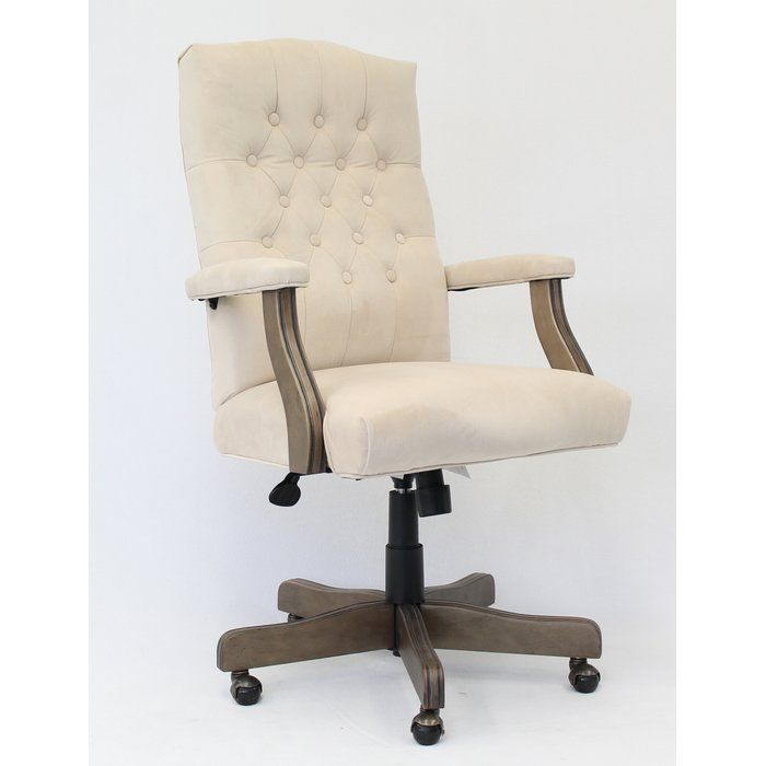 tufted desk chair l shaped studio state line executive in 2019 office pinterest