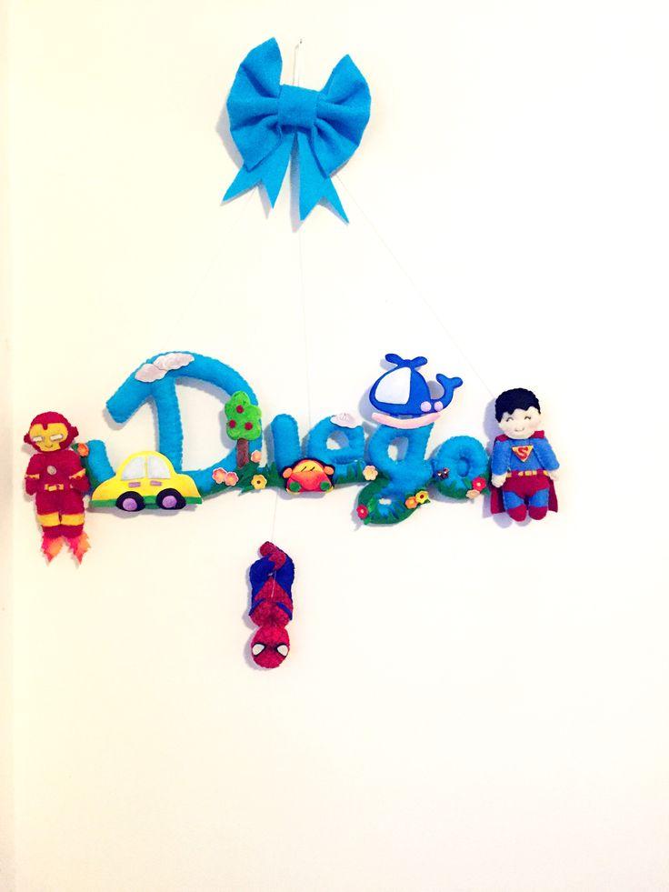 Feltro felt  Baby  Super eroi super hero  Creazioni creations