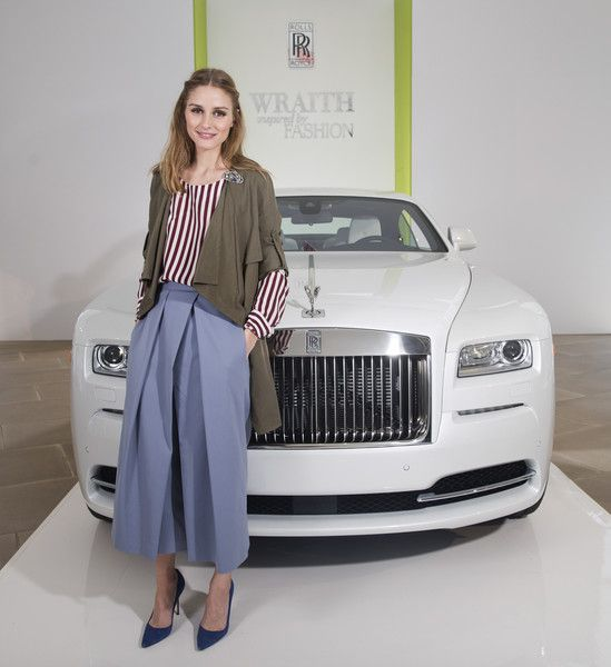 """Olivia Palermo Photos - Fashion Icon Olivia Palermo Receives a First Look at Rolls-Royce Motor Cars' Latest Design Creation, Wraith """"Inspired by Fashion"""" During The Global Debut Of The Stunning New Motor Car At An Exclusive Event In The Heart Of New York City - Zimbio"""