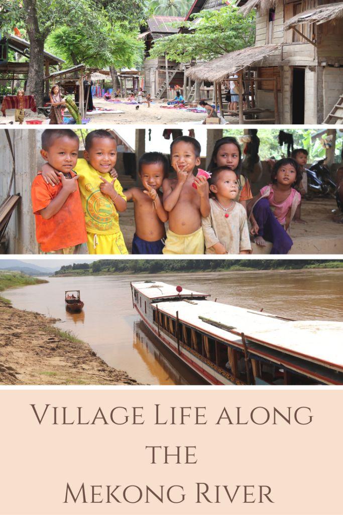Village Life along the Mekong River