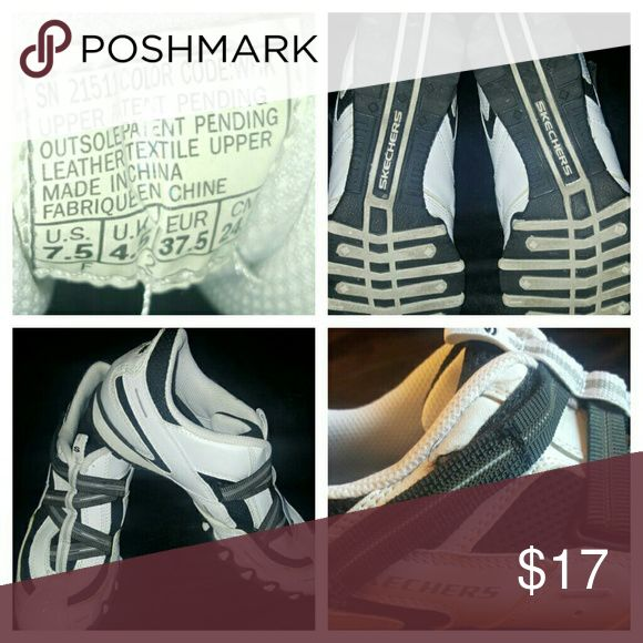 Skechers Biker Spokes Sneakers Size 7 ? women's in excellent condition.  Firm on price. Skechers Shoes Sneakers