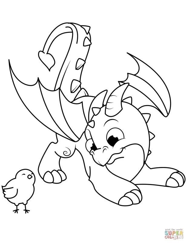Cartoon Colouring Pages Free Dragon Coloring Page Bird Coloring Pages Dinosaur Coloring Pages