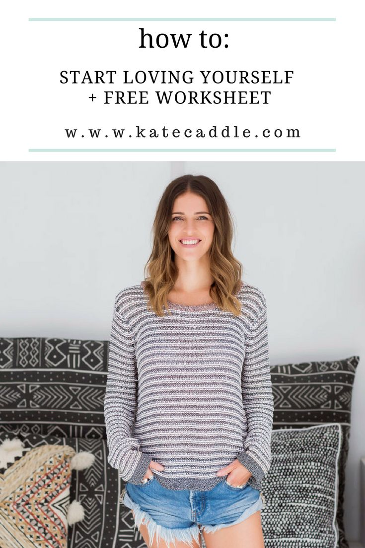 Your simple guide to starting to love and be more kind to yourself | personal development tips | personal growth | self love help articles