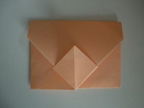Origami-Anleitung: Umschlag