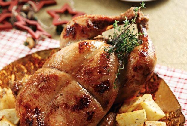 Συνταγές για μικρά και για.....μεγάλα παιδιά: Γεμιστό κοτόπουλο στη γάστρα!