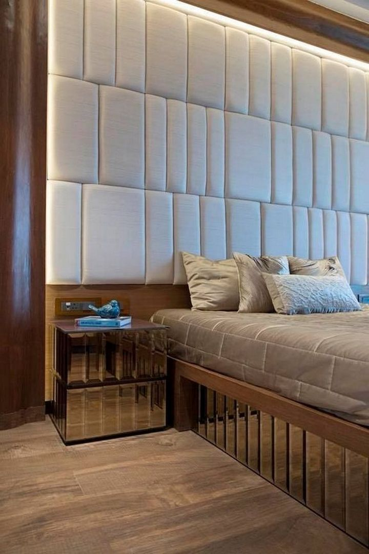 100 Amazing Models Headboard Decoration Ideas In Master Bedroom