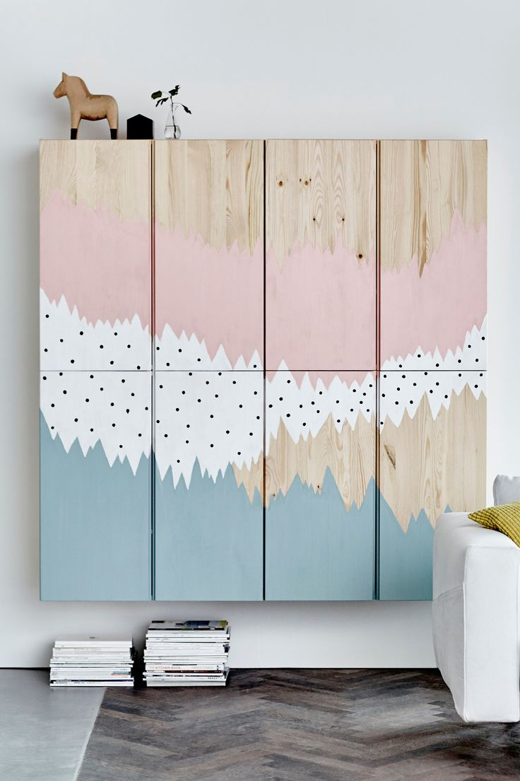 Storage can be more than just a place to put your things - we added some paint to IVAR to make it a work of art.