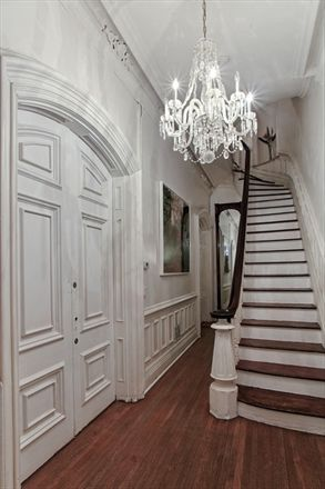9th Avenue Apartment in NYC townhouse - interior/staircase