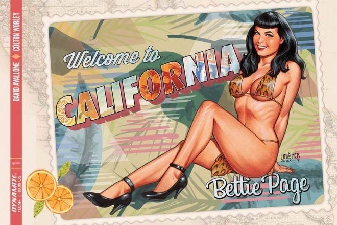 Bettie Page, l'cona torna  in un comics