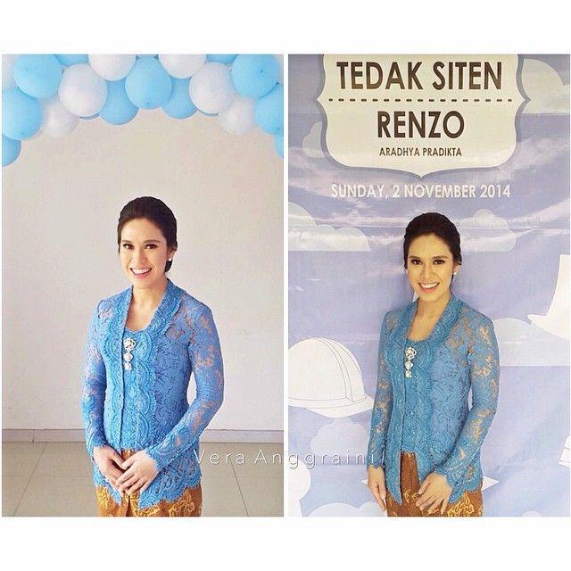 @gemalarifa ... #kebaya #tedaksiten #batik #verakebaya