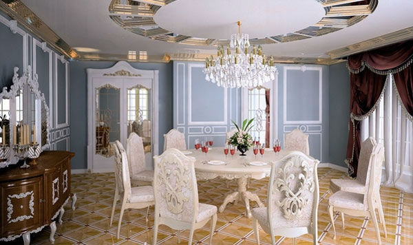 behnce dining room ideas with white furniture