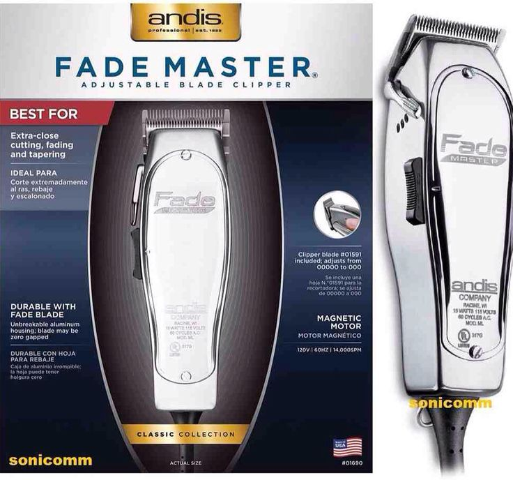 FadeMaster by Andis is ideal for extra close cuts, tapers, and fades, an is available at Alamo Barber and Beauty Supply!!!   #satx #barber #barbershop #fade #taper