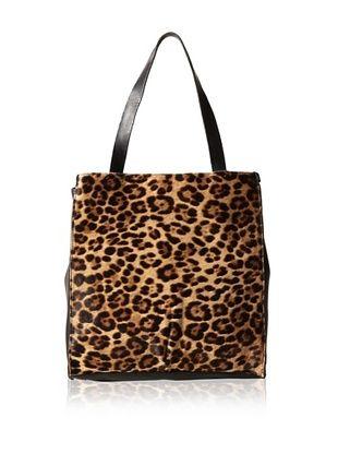 70% OFF 49 Square Miles Women's Maven Magazine Tote, Leopard