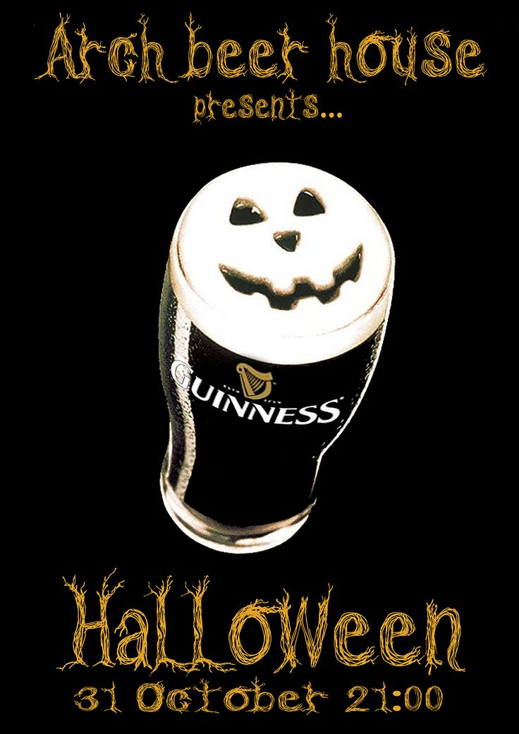 Hallowwen with Guinness...join the event here-->https://www.facebook.com/events/820955937924477/
