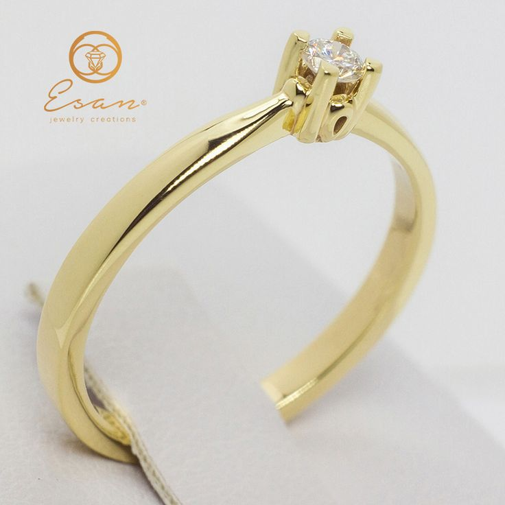 Inel de logodna cu diamant ES46