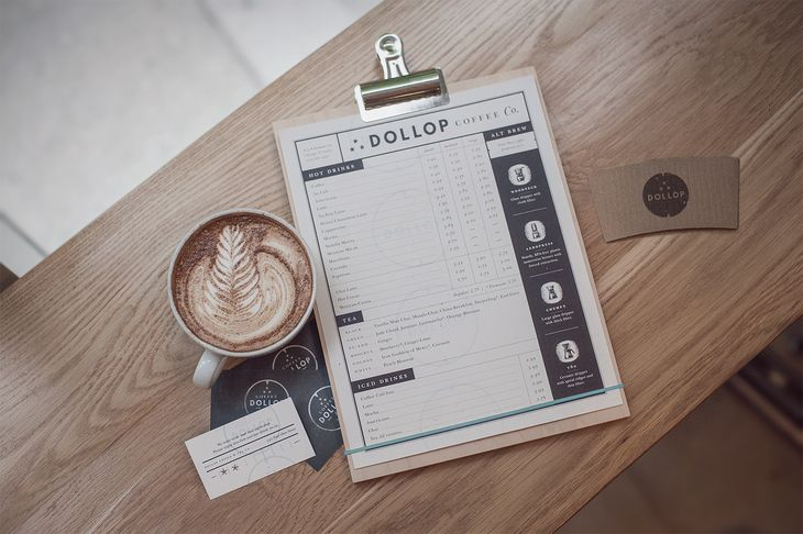 Cafe Menu + Beverage Cards