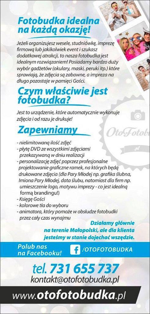 #otofotobudka świetną atrakcją na #wesele #komunia #event #impreza #urodziny #itp www.otofotobudka.pl fotobudka Kraków, Małopolska i in.