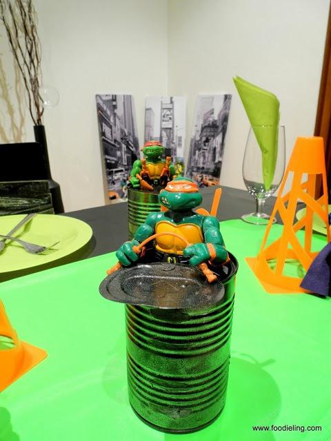 Decoración fiesta tortugas ninja