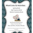 Reading street, High frequency words and Grade 2 on Pinterest