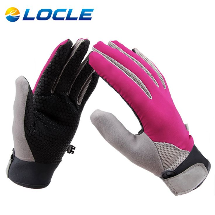 LOCLE Breathable Horse Riding Gloves Durable and Comfortable Equestrian Riding Gloves For Men Women Children