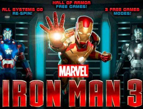 Играть в казино Вулкан на деньги Iron Man 3 Продолжение потрясающего фильма о приключениях Железного Человека позволило компании Playtech выпустить и новую версию игрового автомат Iron Man 3 на реальные деньги. Отличная графика, качественное музыкальное наполнение, значи