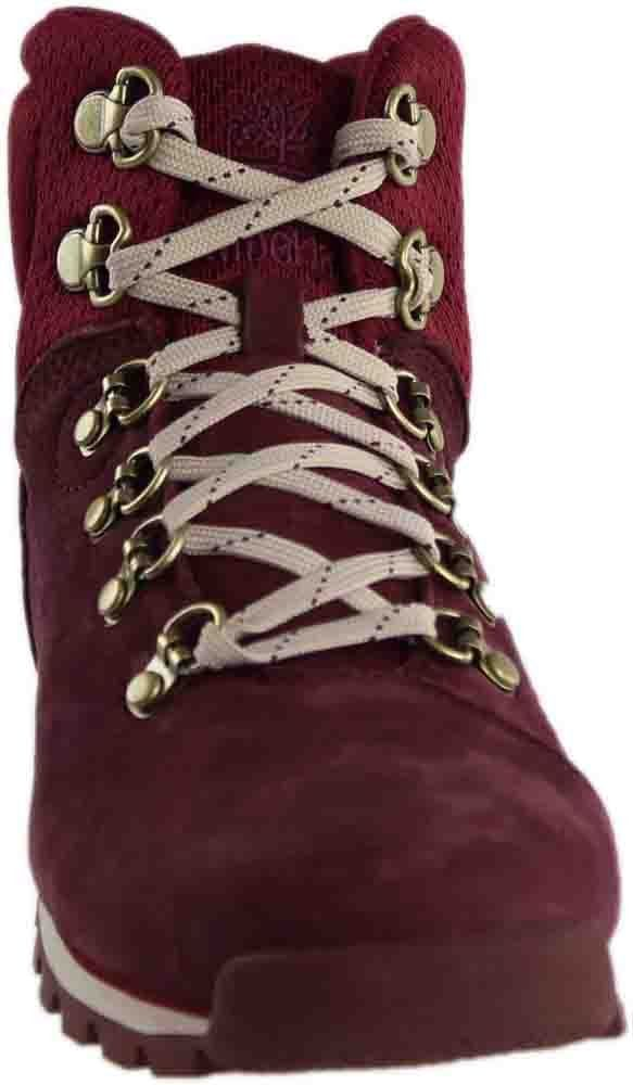 f02de3759fa1 Timberland Womens Alderwood Mid Dark Red Chukka Boot 6 M   Check out this  great product. (This is an affiliate link)  TimberlandClassicShoes