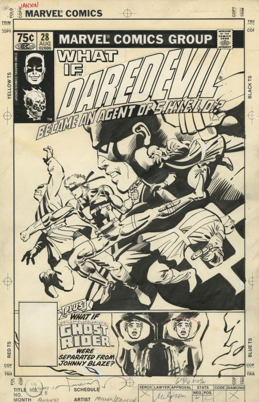 The Marvel Comics of the 1980s 1981 - Anatomy of a Cover - What If #28 By Frank Miller